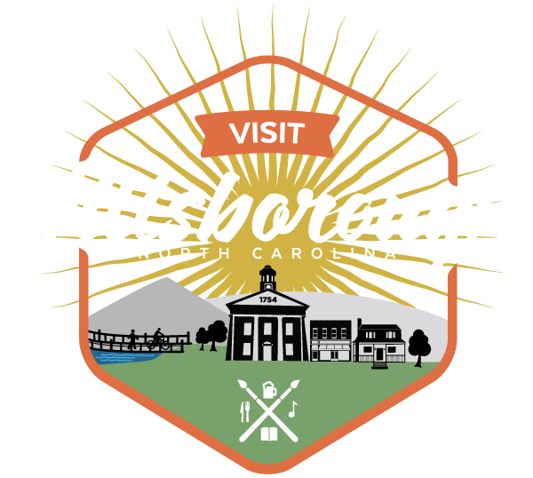 Visit Hillsborough, North Carolina logo