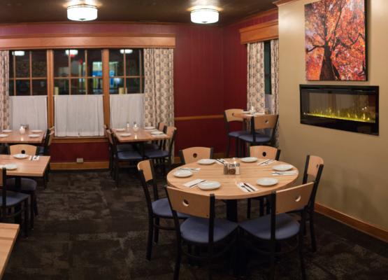 Fireside Room At Radius Pizza Visit Hillsborough Nc